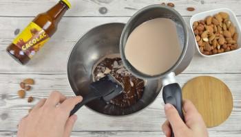 Tarte Praliné Chocolat Cacolac - Etape 4