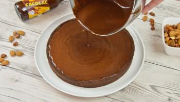 Tarte Praliné Chocolat Cacolac - Etape 5